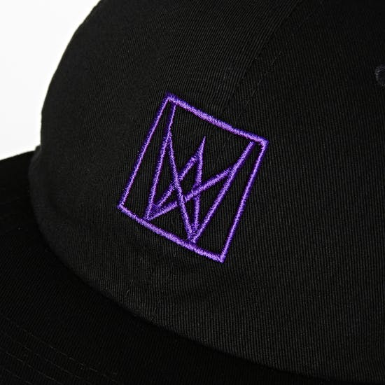 Welcome Icon Unstructured Snapback Cap