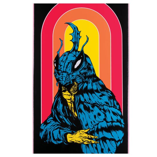 Welcome Mothman - 8.5 Inch Big Bunyip Skateboard Deck