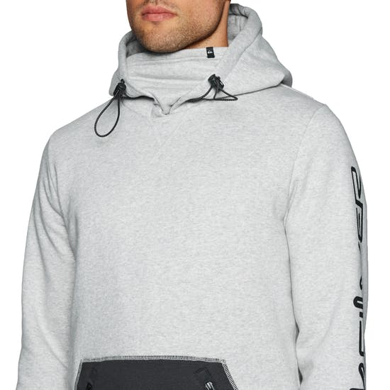 Quiksilver Mens Big Logo Tech Pullover Hoody