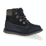 Timberland Pokey Pine 6in Boot Blue Kids ブーツ