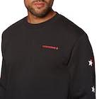 Converse Mens Star Chevron Graphic Crew Sweater
