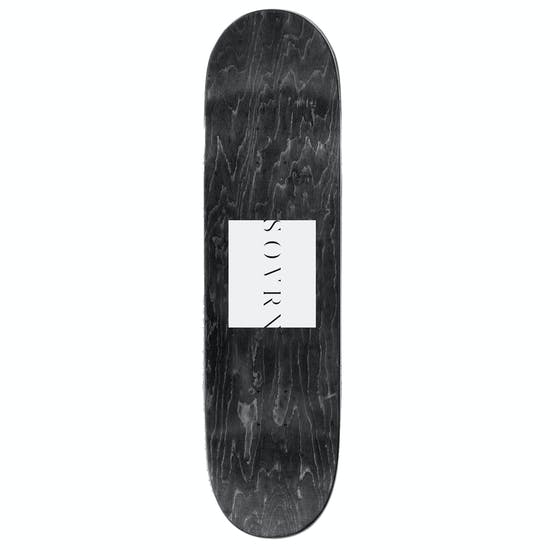 SOVRN Logo Two 8 Inch Skateboard Deck