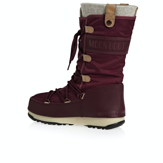 huge discount 84814 9d266 Moon Boot Monaco Felt Womens Boots | Free Delivery Options