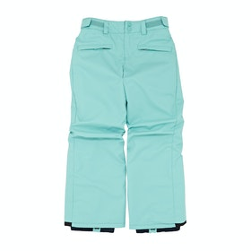 Billabong Kids Alue Boys Snow Pant - Nile Blue