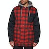 Blusão para Snowboard Burton Dunmore - Bitters Heather Buffalo Plaid/true Black