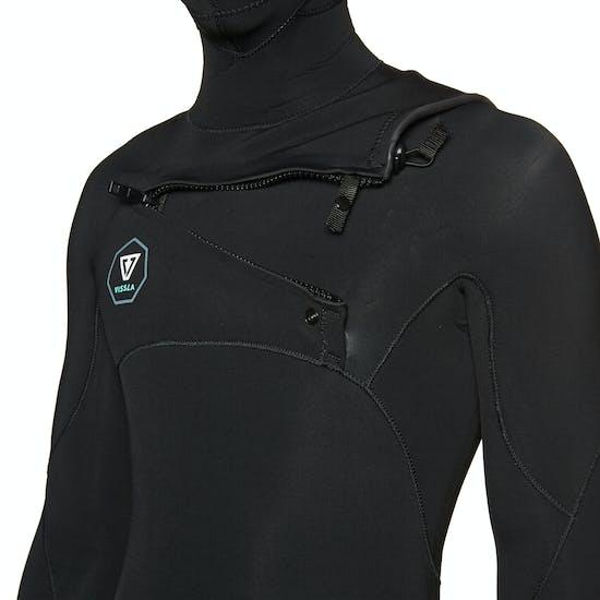 Vissla 7 Seas 4/3mm Chest Zip Hooded Wetsuit