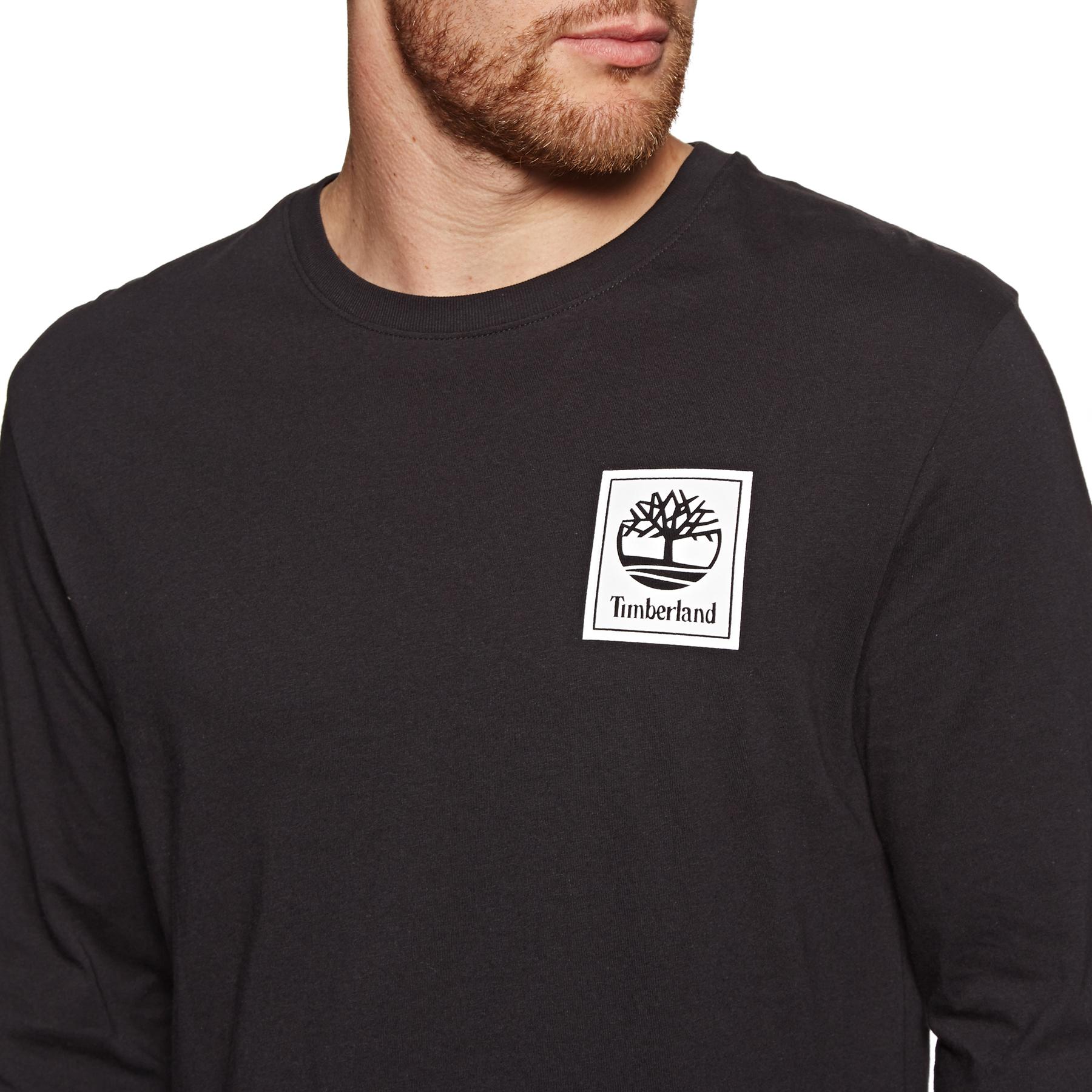 Timberland Big Boys Short Sleeve Solid V-Neck T-Shirt