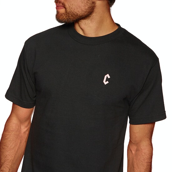 Chrystie C Logo Embroidery Short Sleeve T-Shirt