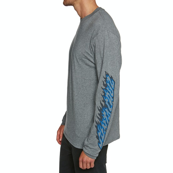 Santa Cruz Flame Dot Long Sleeve T-Shirt