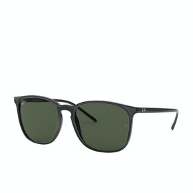 Ray-Ban RB4387 Sunglasses - Black~green