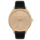 Nixon Clique Leather Ladies Watch