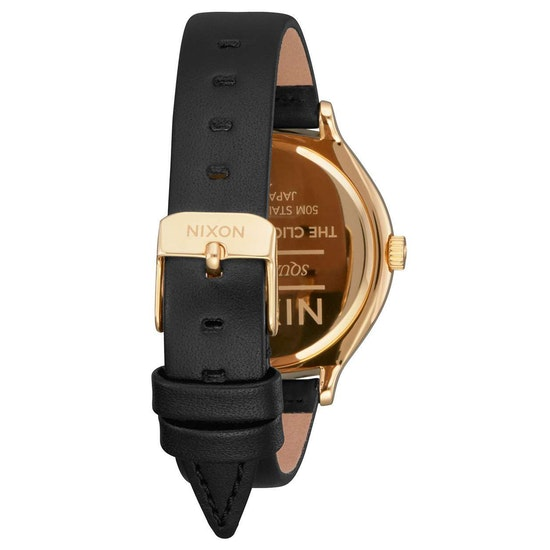 Nixon Clique Leather Womens Watch