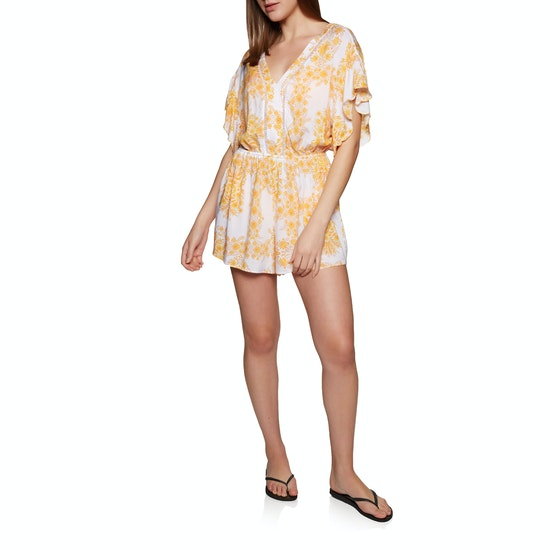 Seafolly Wallpaper Floral Playsuit