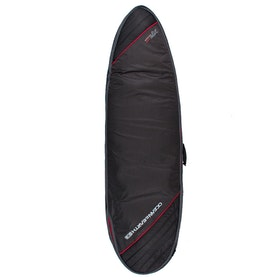 Ocean and Earth Triple Compact Fish Cover Surfboard Bag - Black