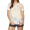 Volcom Zipn N Tripn Womens Short Sleeve T-Shirt - Multi