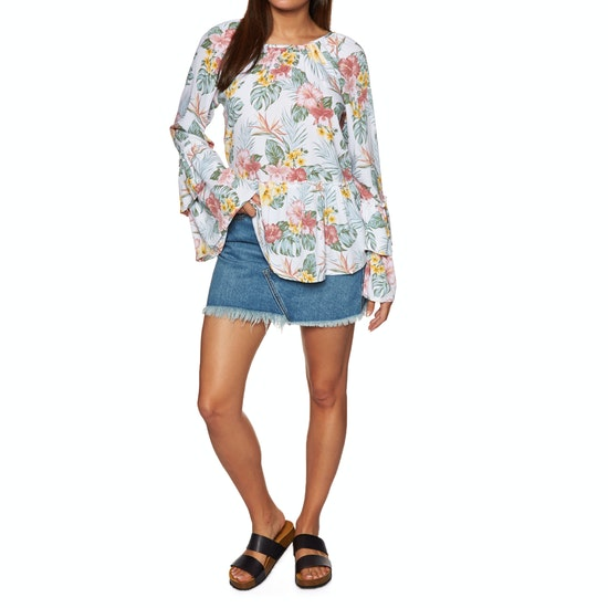 SWELL Billie Flare Blouse Womens Top