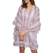 Seafolly Ruffled Stripe Kaftan