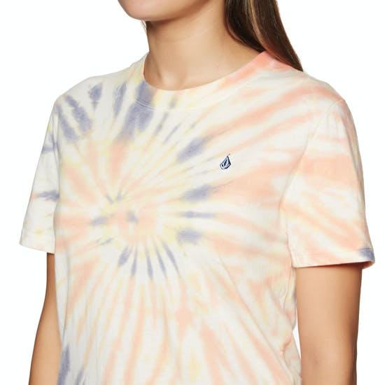 Volcom Zipn N Tripn Womens Short Sleeve T-Shirt