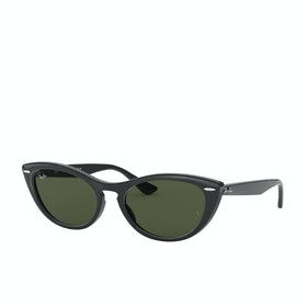 Ray-Ban Nina Sunglasses - Black~green
