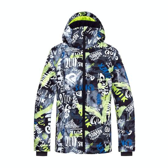 Blusão para Snowboard Criança Quiksilver Boys Mission Printed