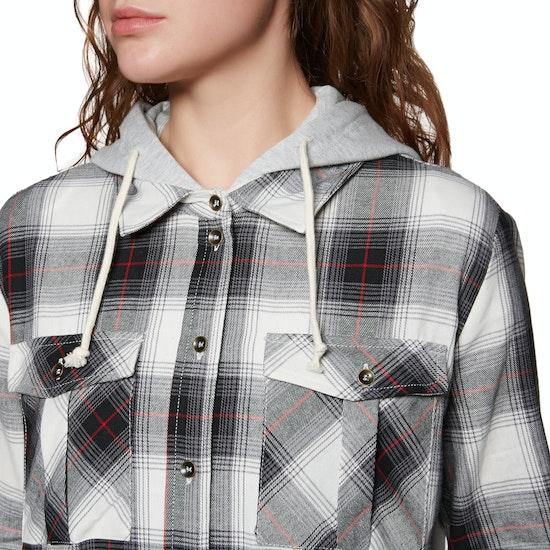 SWELL Hooded Womens Shirt