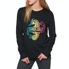 Santa Cruz Seahorse Crew Ladies Sweater