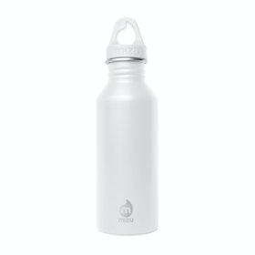 Mizu M5 w Loop Cap Water Bottle - Enduro White