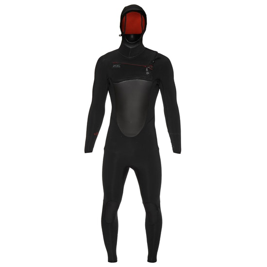 Xcel Drylock 6/5mm 2019 Chest Zip Hooded Wetsuit