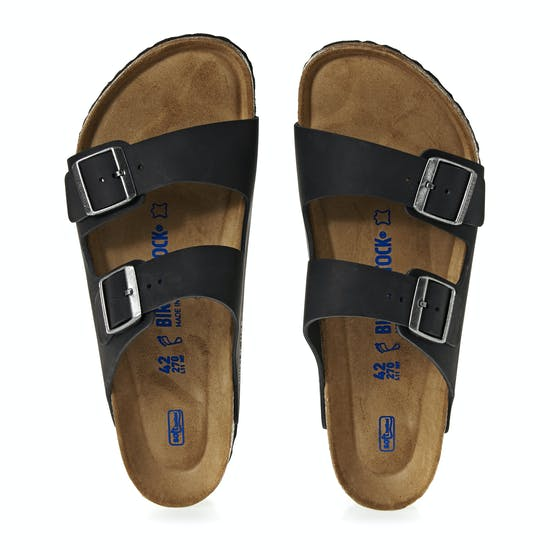 70f88469d71 Birkenstock Arizona Oiled Leather Soft Footbed Sandals available ...