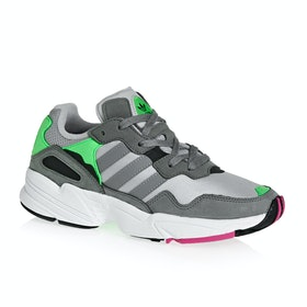 Adidas Originals Yung Chasm Shoes - Grey Two Grey Three Shock Pink