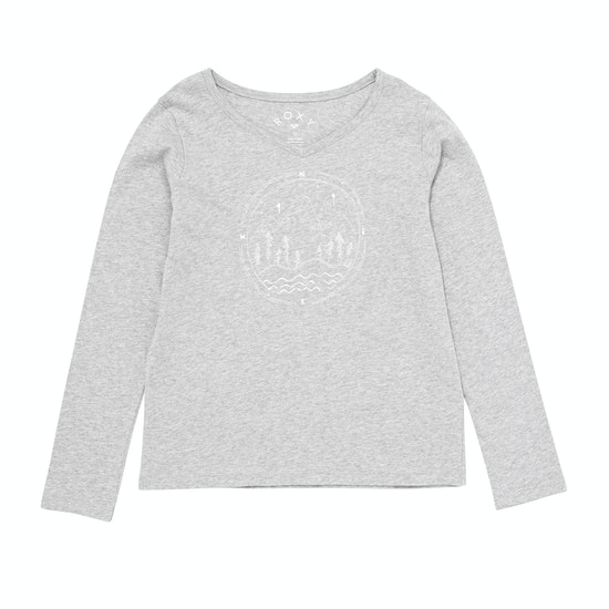 Roxy Say Something Mädchen Langarm-T-Shirt