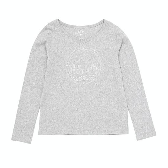 Roxy Say Something Girls Long Sleeve T-Shirt