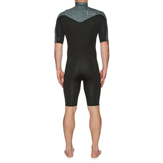 Billabong Absolute 2mm 2019 Chest Zip Shorty Mens Wetsuit