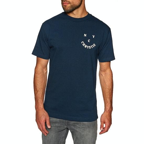 Chrystie Smile Logo Short Sleeve T-Shirt