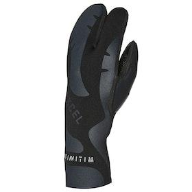 Xcel 5mm Infiniti 3 Finger Wetsuit Gloves - Black