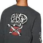 RVCA Double Skull Long Sleeve T-Shirt