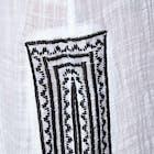Seafolly Sun Temple Embroidered Maxi Shirt Dress