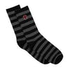 Chaussettes Independent Scorch - Black Charocal