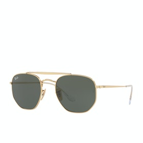 Ray-Ban The Marshal Sunglasses - Gold Green