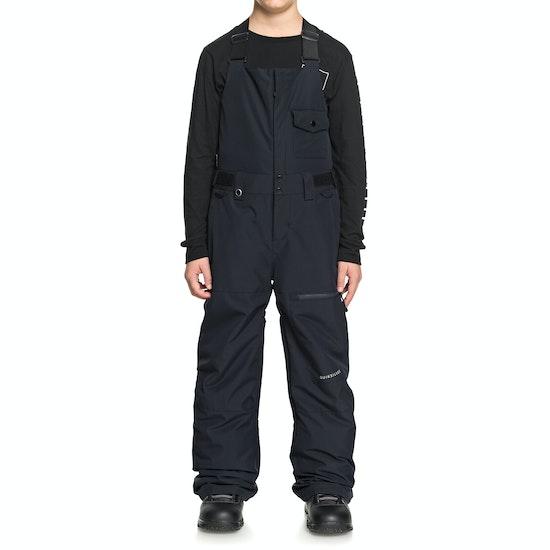 Pantalons pour Snowboard Enfant Quiksilver Stratus Bib