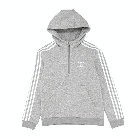 Adidas Originals Half Zip Kids Pullover Hoody
