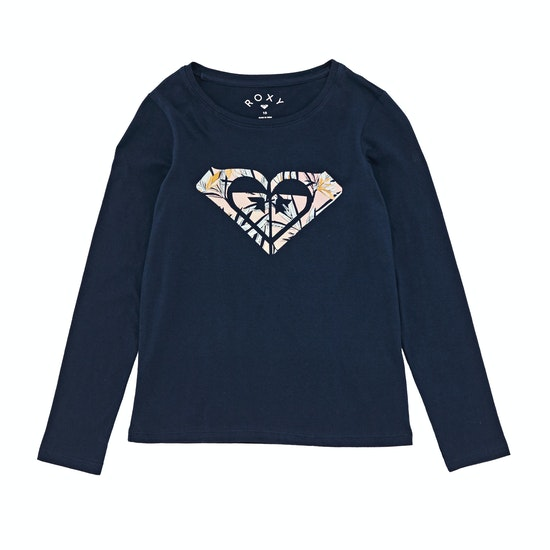 Roxy Gradual Awakening Mädchen Langarm-T-Shirt