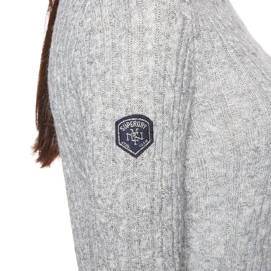 Superdry Croyde Cable Knit Womens Knits