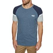 Superdry Orange Label Baseball T-Shirt Korte Mouwen