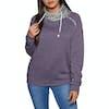 Protest Pooley Womens Sweater - Dark Lava