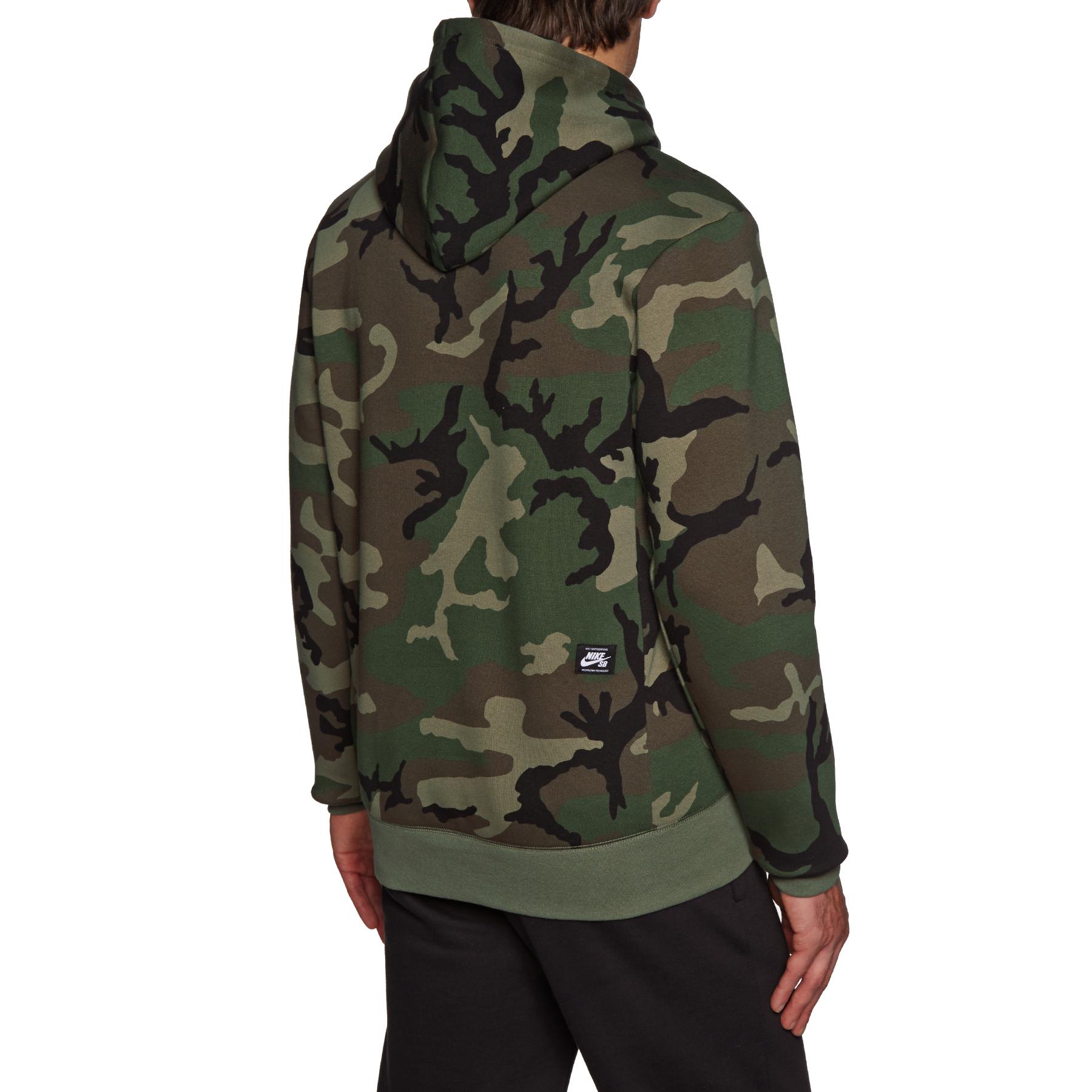 Pullover à Capuche Nike SB Icon Erdl Camo | Livraison
