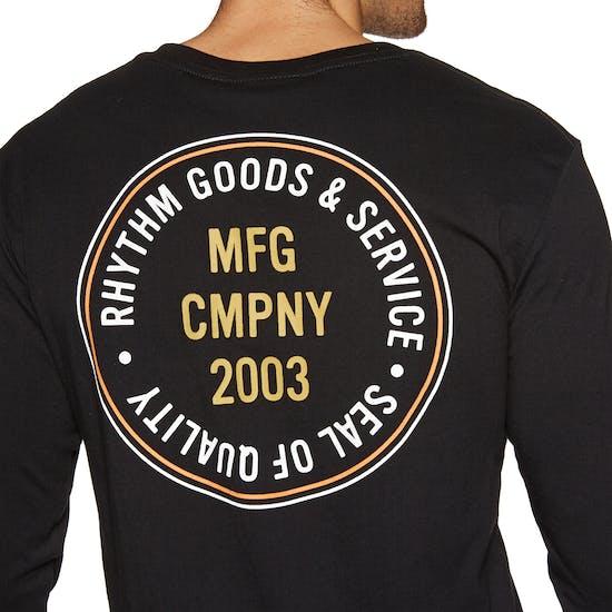 Rhythm Stamp Long Sleeve T-Shirt