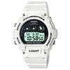 Casio W-214hc-7avef Watch - White Transparent