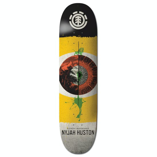 Element Retina Nyjah 8.25 Inch Skateboard Deck