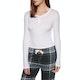 Jack Wills Brend Skinny Henley Top Dames T-Shirt Lange Mouwen